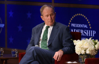 Dilapidated US President Bush expresses 'deep sadness' over Afghan situation