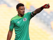 Sundowns make contact with Bafana keeper Ronwen Williams