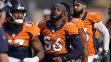 Broncos rookie Browning has long road ahead after leg injury