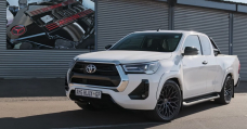 This AMG 6.2 V8-Engined Toyota Hilux Modified into as soon as Born Out Of Mercedes X-Class Disappointment