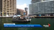 Security concerns raised regarding Toronto water taxis