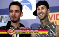 'The relaxation is imaginable': Travis Barker thanks Kourtney for helping him overcome fear of flying