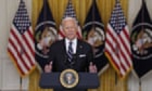 Biden endorses Covid booster shots as 'only way to protect ourselves from new variants' – live
