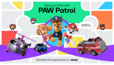 Waze with 'PAW Patrol' voices sounds like a chill car ride