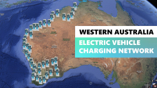 WA charging network for EVs will offer 45 charging locations with avg distance of just 160km between them