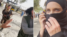 CNN reporter Clarissa Ward in Afghanistan accosted by Taliban fighters at Kabul Airport