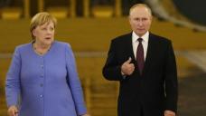 Merkel, Putin clash over Navalny