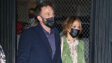 J.Lo & Ben Affleck Shield Fingers Whereas Bringing Children & His Mother To Look 'Hamilton' — Photos