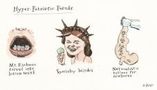 Hyper-Patriotic Traits