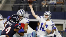 QB Sprint solid for Cowboys in 20-14 preseason loss to Texans