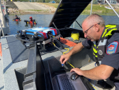 An in-depth look at the tech, challenges and inspiration of Alberta's rescue dive team