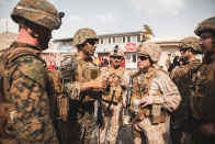 U.S. forces in Afghanistan look at alternative evacuation plans as ISIS threatens Kabul airport, NBC Information reports