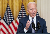 Biden says U.S. has 'prolonged way to go and a lot could still go incorrect' in Afghanistan evacuation
