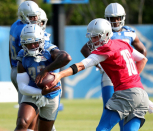 Lions coach Dan Campbell: RB D'Andre Swift's injury status 'issues me a little bit'