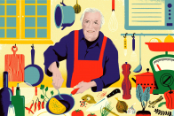 A Lesson from Jacques Pépin, and Dexter Filkins on the Stay of the Eternally Conflict