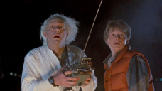 'Support To The Future' legends Michael J Fox and Christopher Lloyd reunite for fan event 36 years after movie