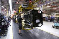 UK new car output down by 37.6% but EV uptake grows