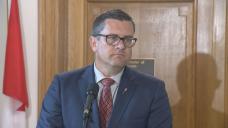COVID-19: Saskatchewan health minister, opposition leader address vaccine mandates, restrictions