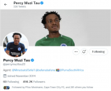 Percy Tau REMOVES Brighton from Twitter profile!