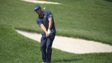 DeChambeau overpowers Caves Valley and narrowly misses a 59