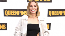 Kristen Bell Addresses Controversy About Guests Ashton Kutcher & Mila Kunis Not Bathing Their Children