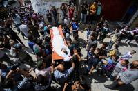 'Night Harassment Devices' rioting on Gaza border