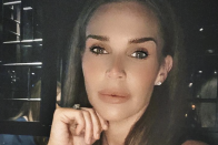 Danielle Lloyd shows off quirky new home bar with pool table and neon lights