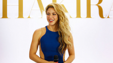 Shakira Snuggles Up To Sons Sasha, 6, & Milan, 8, In Rare Photos After Browsing Classes On Wave Machine