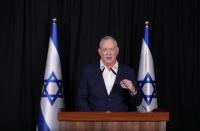 Gantz meets Abbas in Ramallah after Bennett's US visit