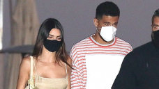 Kendall Jenner Stuns In A Nude Costume While Keeping Fingers With Devin Booker On Date Night