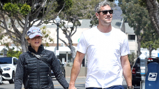 Renee Zellweger & Ant Anstead Address Arms & Seize His Son For A Hotfoot In Laguna Coastline — Footage