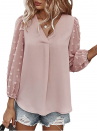 This Pom-Pom Chiffon Blouse Has Us Critically Inflamed for Descend — Unbiased $20!