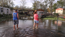 'A hurricane ain't gonna drive me away': Louisiana residents check for damage after Ida