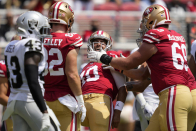 One thing on each position on 49ers initial fifty three-man roster