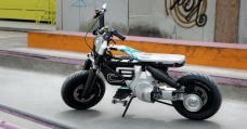 The BMW Thought CE 02 Is A Motorbike For The Future With A Skateboard Foot Leisure