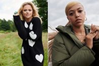 Emily Atack, Mahalia, Anne Marie and Lauren Nicole are the new faces of New Be aware's AW21 collection