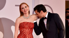 Wow! Jessica Chastain and Oscar Isaac Point out Chemistry on Red Carpet