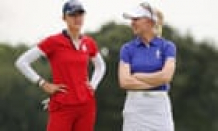 Controversy over Nelly Korda's ball mars opening of Solheim Cup