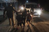 Migrant caravan broken up again in southern Mexico