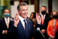 Betting markets swing in favor of Gov. Gavin Newsom as California recall effort enters home stretch