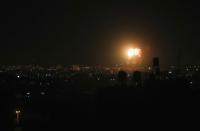 IDF strikes Gaza targets in response to balloon fires