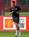 Cristiano Ronaldo's first OFFICIAL training session since returning to Manchester United – PICTURES