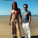 Jason Momoa and Patrick Wilson film Aquaman 2 on North Devon beach