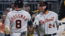 Cabrera, Grossman power Tigers past Pirates, 5-1