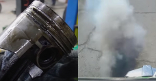 How Worthy Oil Does A Car Burn With The Valve Seals And Oil Rings Eliminated?