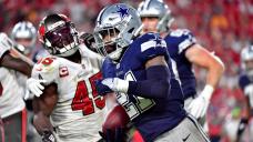 Winners, losers of Buccaneers' season-opening victory vs. Cowboys: Unsuitable day for Ezekiel Elliott, other RBs