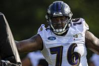 Ravens release veteran OT Andre Smith from practice squad