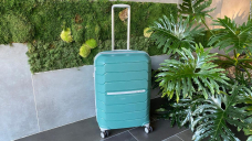 We tested 9 high-rated checked suitcases: These 2 won us over