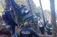 Israeli child who survived Italy cable car crash abducted to Israel