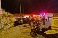 Nine Israelis injured in five car accidents within hours